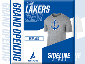 Display of Laker branded t-shirt
